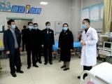 李瑛副市长一行来院慰问我院医务人员