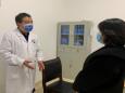 专家现场指导我院安全输血工作