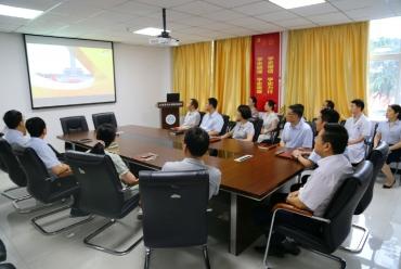 我院党员职工集中收看热议庆祝中国共产党成立100周年大会