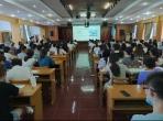 我院组织2021-2022学年实习生岗前培训会